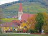 The White Church of Weissenkirchen (jimsawthat) Tags: vineyards architecture architecturaldetails smalltown weissenkirchen austria church danuberiver