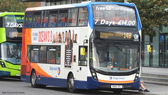Stagecoach Merseyside SM66 VBJ 10838 (WY Bus Spotter) Tags: stagecoach merseyside sm66vbj 10838 west yorkshire bus spotter wybs knowsley village 14b liverpool gillmoss depot mann island enviro400 enviro 400 mmc alexander dennis adl