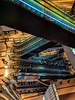 #157 Up & down (tokyobogue) Tags: tokyo japan shibuya nexus6p nexus hikarie hikariebuilding escalators up people lines colours modernarchitecture modern levels