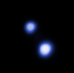 Alpha Centauri A and B in X-Rays (sjrankin) Tags: 7june2018 edited nasa star alphacentauri alphacentauria alphacentaurib chandra chandraspacetelescope xray