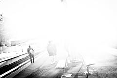 (steven:s) Tags: sydney street bw city light dark people station nothing monochrome ricoh gr black white