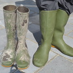 166 -- Hevea Wellies from 1970 -- Rubberboots -- Gummistiefel -- Regenlaarzen thumbnail