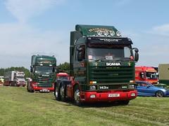 M311 WBF - PKJ&R Lloyd (quicksilver coaches) Tags: scania 143m streamline lloyd m311wbf gaydon