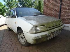 1993 Citroen AX Highlight (Neil's classics) Tags: vehicle 1993 citroen ax abandoned