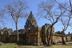 Prasat Phanom Rung, Thaïlande (voyagesphotos) Tags: asia asie thaïlande thailand prasat phanom rung temple khmer landscape paysage hindou hindu hinduism hindouïsme architecture bâtiment building