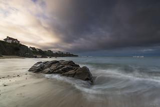 Un matin sur la plage des Grands Sables
