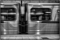 550...549... (drpeterrath) Tags: canon eos5dsr 5dsr bw blackwhte metro subway undergound la losangeles rail transportation reflections urbanlandscape hollywood northhollywood california