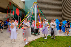 Cadenza Parade the Circle (Steve Brezger Photography) Tags: clevelandmuseumofart people street wadeoval arts cadenza ceremonial collage color costumes creative exhibition march media outdoor parade performance procession public showy style talent