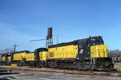 Back to Work (ac1756) Tags: northwestern chicagonorthwestern cnw alco c425 waseca minnesota 491
