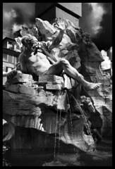 Fountain of the Four Rivers (albireo 2006) Tags: fountainofthefourrivers fontanadeiquattrofiumi fuentesfountains fountain fontana piazzanavona rome roma italy italia blackwhitephotos blackandwhite blackandwhitephotos blackwhite bw bn bernini baroque