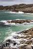 Achmelvich Beach (StickyToffeeQueen) Tags: achmelvichbeach stormy waves sea rocks sutherland