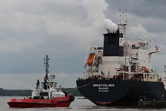 Smit Barbados & Brentholmen (das boot 160) Tags: smitbarbados tugs towage towing ships sea ship river rivermersey port docks docking dock boats boat mersey merseyshipping maritime eastham manchestershipcanal