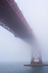 Golden Gate Bridge :San Francisco (shishirmishra1) Tags: bridge sanfrancisco california usa sausalitto foggy landmark oakland historical old golden