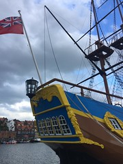 Endeavour Replica (Stockton) now in Whitby Harbour (Bolckow) Tags: endeavour endeavourreplica hmbendeavour cook jamescook whitby