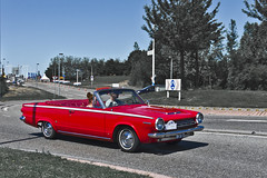 Dodge Dart GT Convertible 1964 (4112) (Le Photiste) Tags: dodgedivisionofchryslergroupllcauburnhillsmichiganusa dodgedartgtconvertible cd clay 1964 dodgedart6gtseriesvl1pmodelvl1p272doorconvertible redmania simplyred lelystadthenetherlands thenetherlands dm3623 sidecode1 oddvehicle oddtransport rarevehicle americanluxurycar americanconvertible afeastformyeyes aphotographersview autofocus artisticimpressions alltypesoftransport anticando blinkagain beautifulcapture bestpeople'schoice bloodsweatandgear creativeimpuls cazadoresdeimágenes carscarscars canonflickraward digifotopro damncoolphotographers digitalcreations django'smaster friendsforever finegold fandevoitures fairplay greatphotographers peacetookovermyheart hairygitselite ineffable infinitexposure iqimagequality interesting inmyeyes lovelyflickr livingwithmultiplesclerosisms myfriendspictures mastersofcreativephotography niceasitgets photographers prophoto photographicworld planetearthtransport planetearthbackintheday photomix soe simplysuperb slowride saariysqualitypictures showcaseimages simplythebest thebestshot thepitstopshop themachines transportofallkinds theredgroup thelooklevel1red vividstriking simplybecause wheelsanythingthatrolls yourbestoftoday oldtimer