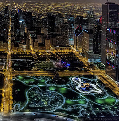 Maggie Daley Park in Chicago Aerial Photo (Performance Impressions LLC) Tags: chicago chicagoaerial chicagoaerialphoto aerial photography night citylights buildings skyscrapers skyline nightscape cookcounty downtown cityscape lakemichigan architecture 12586728542 realestate travel tourism commercial residential city lights millenniumpark maggiedaleypark illinois unitedstates usa
