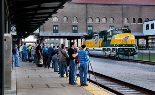 Nice Orderly Photo Line - St. Paul Union Depot