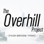 designeour: The Overhill Project - Display Font bySNIPESCIENTIST >> Go to shop https://t.co/WBgDUUHZ5Y https://t.co/gXhSbtoLus https://t.co/iO4W8SMOLb thumbnail