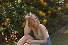 sigrid (Linda Andersen Ness) Tags: girl botanical garden hage botanisk portrait flower flowers bush oslo