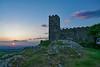 Brentor sunset (Hoovering_crompton) Tags: church brentor sunset st michael de rupe dartmoor tor devon england sky sun cloud granite fields tree nikon d3300 tripod landscape