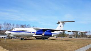 Ilyushin IL.76T c/n 0003427796 registration ER-IBA preserved as Trans Avia Export