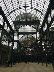 (maycambiasso98) Tags: crystalpalace palace crystal viaje visit travel day sun building glass park parque elretiro retiro madrid españa spain palaciodecristal cristal palacio