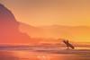 The surfer (Mimadeo) Tags: surfer sunset silhouette entering water shore ocean sea beach sport man coast surfboard summer surf surfing rider shoreline seaside sand dusk sky board evening cliff cliffs haze hazy mist misty sopelana vizcaya bizkaia paisvasco euskadi basquecountry euskalherria spain beautiful landscape seascape sopela orange