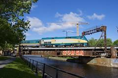 VIA 915 (Michael Berry Railfan) Tags: via915 via33 viarail ge generalelectric genesisseries p42dc peelbasin lachinecanal montreal quebec sthyacinthesub train passengertrain