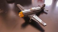Ki-84 Hayate (Brickdude112 (▀̿Ĺ̯▀̿ ̿)) Tags: light photo brickarms lego