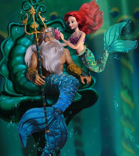 Ariel and King Trition