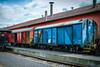 out of order (Herr Nergal) Tags: fz1000 lumix panasonic zug bahn gleis train locomotive saarland losheim rails bunt colorful 7dwf