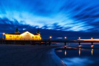 Ahlbeck Pier at Blue Hour No. 3 - Usedom, Mecklenburg-Vorpommern
