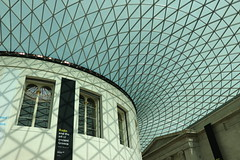 British Museum, Londres (Ce Rey) Tags: roof light interior modern london londres museos museum