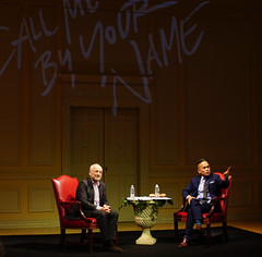 2018.06.06 Library of Congress Mythology Tour, Conversation with Andre Aciman, Washington, DC USA 02845