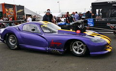 Supercharged Viper_0001 (Fast an' Bulbous) Tags: racecar drag race strip track pits car vehicle automobile outdoor santapod motorsport fast speed power acceleration nikon d7100 gimp