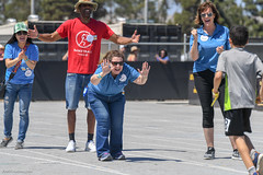 20180609-SG-Day1-Volunteer-JDS_7550 (Special Olympics Southern California) Tags: avp albertsons basketball bocce csulb ktla5 longbeachstate openingceremony pavilions specialolympicssoutherncalifornia swimming trackandfield volunteers vons flagfootball summergames