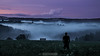 The Fog (Emanuel D. Photography) Tags: nature landscape silhouette fog dark outdoors scenics men tree sky forest people sunset cloudsky autumn dusk mist