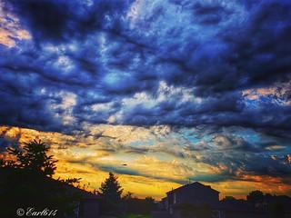 A stormy sunrise!