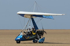 G-MZNB (QSY on-route) Tags: gmznb lancashire landing 2018 fly in knott end beach airfield 09062018