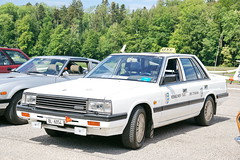 Nissan Laurel C32 Taxi 1984-89 21.5.2018 0371 (orangevolvobusdriver4u) Tags: 2018 archiv2018 car auto klassik classic oldtimer japan nissanjapan schweiz suisse switzerland bleienbach nissan laurel c32 1984 taxi taksi teksi nissanlaurel nissanlaurel1984