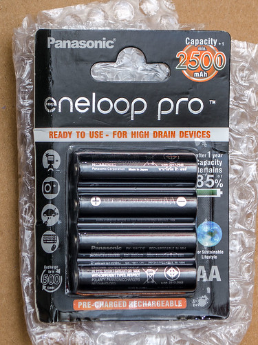 Fake Panasonic eneloop pro batteries
