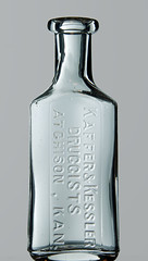 KAFFER & KESSLER, ATCHISON, KS (Ks Ed) Tags: antique antiquebottle glass vintage excavated dug old drugstore drug medicine ks kansas bottle find prescription pharmacy kaffer kessler atchison