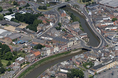 The River Nene running through Wisbech - aerial (John D Fielding) Tags: freedombridge townbridge rivernene river cambridgeshire wisbech above aerial nikon d810 hires highresolution hirez highdefinition hidef britainfromtheair britainfromabove skyview aerialimage aerialphotography aerialimagesuk aerialview drone viewfromplane aerialengland britain johnfieldingaerialimages fullformat johnfieldingaerialimage johnfielding