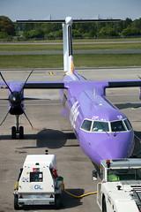 G-JEDP de Havilland Canada DHC-8-402 Dash 8, flybe, Edinburgh Airport, Edinburgh, Scotland (Kev Slade Too) Tags: gjedp dehavillandcanada dhc dhc8 dash8 flybe spiritofbelfast be294 egph edinburghairport edinburgh scotland