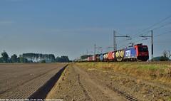 E484 005 (MattiaDeambrogio) Tags: e484 005 sbb cargo italia borgolavezzaro merci container tec