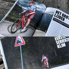 Het blijft toch wel heel bijzonder om je eigen verhaal in #BicyclingNL te zien staan. #AlpecinCycling #Wahooligan #MyCanyon