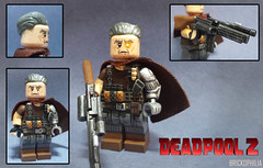 Custom Lego Deadpool 2: Cable (Brickophilia) Tags: custom lego minifigure xmen marvel comics superhero villain cable josh brolin deadpool 2