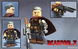 Custom Lego Deadpool 2: Cable