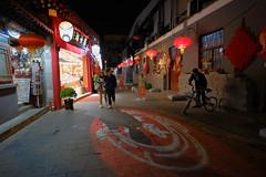 XE3F0998 - Wangfujing Food Alley (Enrique R G) Tags: wangfujing food alley wangfujingfoodalley snack street wangfujingsnackstreet calle callejón pekín beijing china noche nocturna night fujixe3 fujinon1024