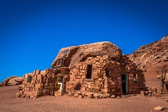Some old houses made of stone in Northern Arizona